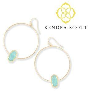 🔶️JUST IN🔶️ Kendra Scott Elora Chalcedony Hoops